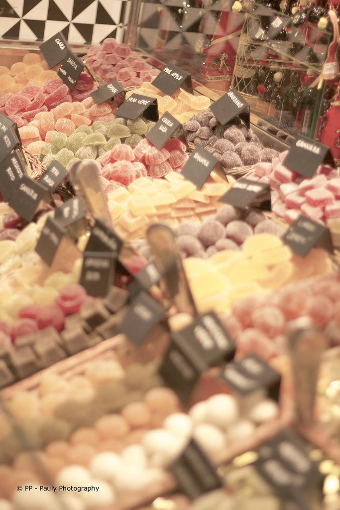 Süßigkeiten in der Boqueria