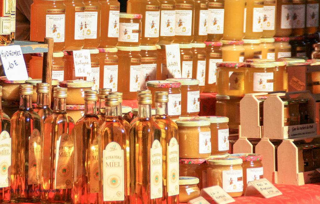 Wochenmarkt - Honig